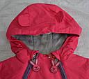 Зимний термокомбинезон для младенцев Зайчик розовый (QuadriFoglio, Польша), фото 2