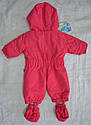 Зимний термокомбинезон для младенцев Зайчик розовый (QuadriFoglio, Польша), фото 9