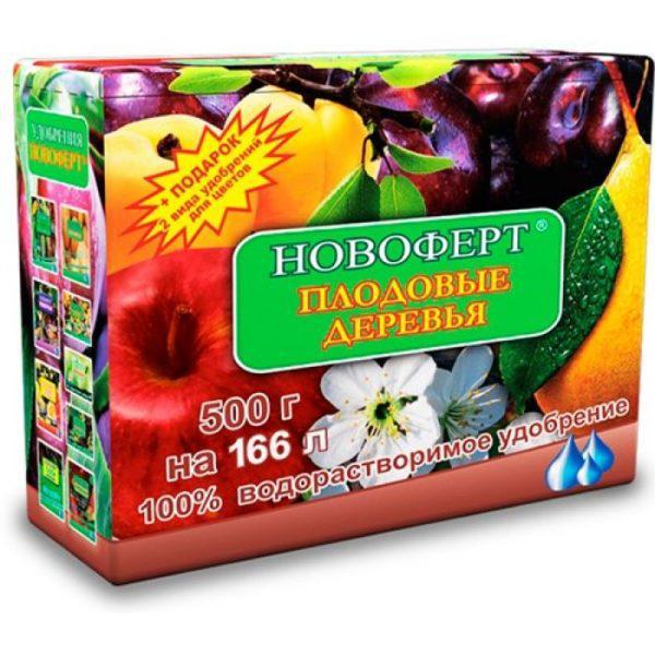 """Удобрение Новоферт """"Плодовые деревья"""" 500г"""
