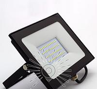 Светодиодный прожектор 50Вт 6500K, LMP9-52 чёрный, фото 1