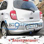 Фаркоп - Nissan Micra (K13) Хэтчбек (2010--)