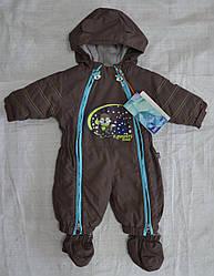 Зимний термокомбинезон для младенцев Лисенок коричневый (QuadriFoglio, Польша)