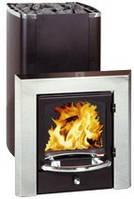 Kastor KSIL-37 JK— дровяная печь для сауны с камином, для бани