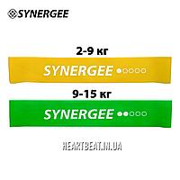 Набор фитнес резинок Mini Band Synergee (2-15 кг, 1-2 уровень)