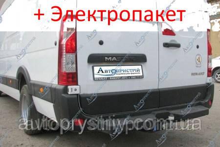 Фаркоп - Nissan NV 400 Мікроавтобус (2010--) L=4685 2 кол. з підніжкою