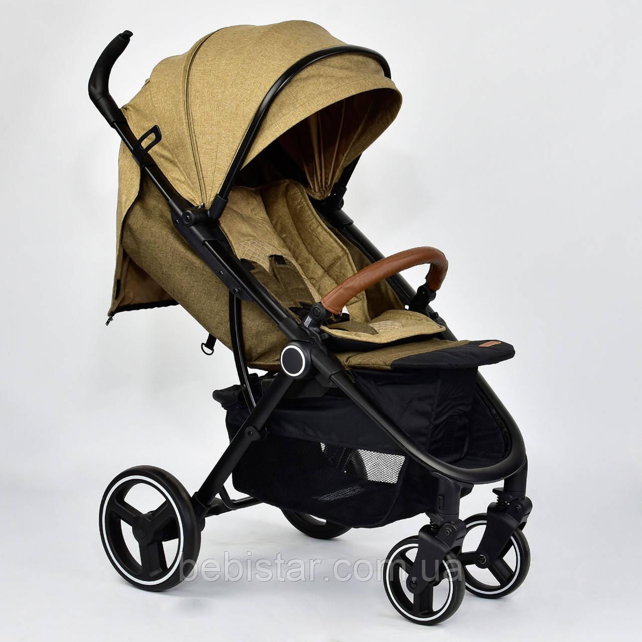 Детская коляска сераяJOY 6883 Coffee деткам до 3 лет