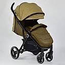 Детская коляска сераяJOY 6883 Coffee деткам до 3 лет, фото 2