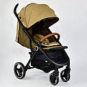 Детская коляска сераяJOY 6883 Coffee деткам до 3 лет, фото 6