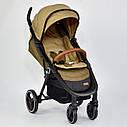 Детская коляска сераяJOY 6883 Coffee деткам до 3 лет, фото 7