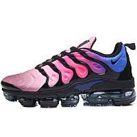 ef1316434 Кроссовки мужские Nike Air Vapormax Plus Gradient (розовые-черные-синие)  Top replic