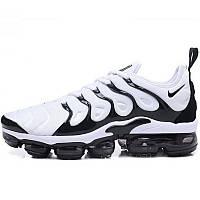 c3e1f9b2 Кроссовки мужские Nike Air Vapormax Plus Gradient (белые-черные) Top replic