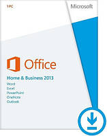 Офисное приложение Office 2013 Home and Business Russian Brand CEE OEM (T5D-01870)