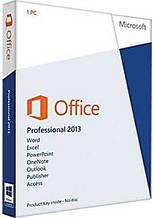 Офисное приложение Microsoft Office профессиональный 2013 Русский 1 ПК (коробочная версия) (269-16288)