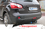 Фаркоп - Nissan Qashqai+2 (NJ10) Кроссовер (2006-2013)