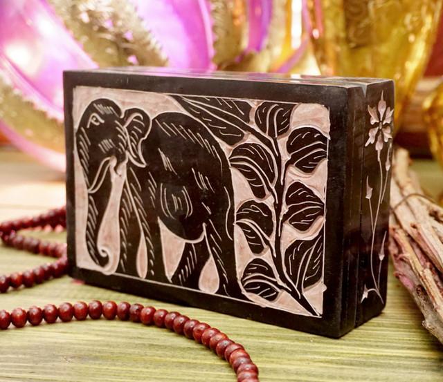 Шкатулка резная Слон большая: продажа, цена в Херсоне. шкатулки от ...