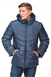 Мужская зимняя куртка с капюшоном Давид Разные цвета