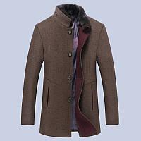 Мужское весеннее пальто. Модель 61694, фото 2