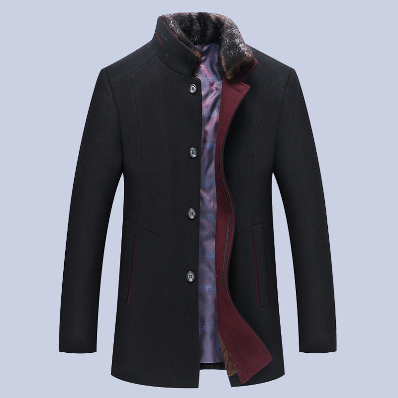 Мужское весеннее пальто. Модель 61694
