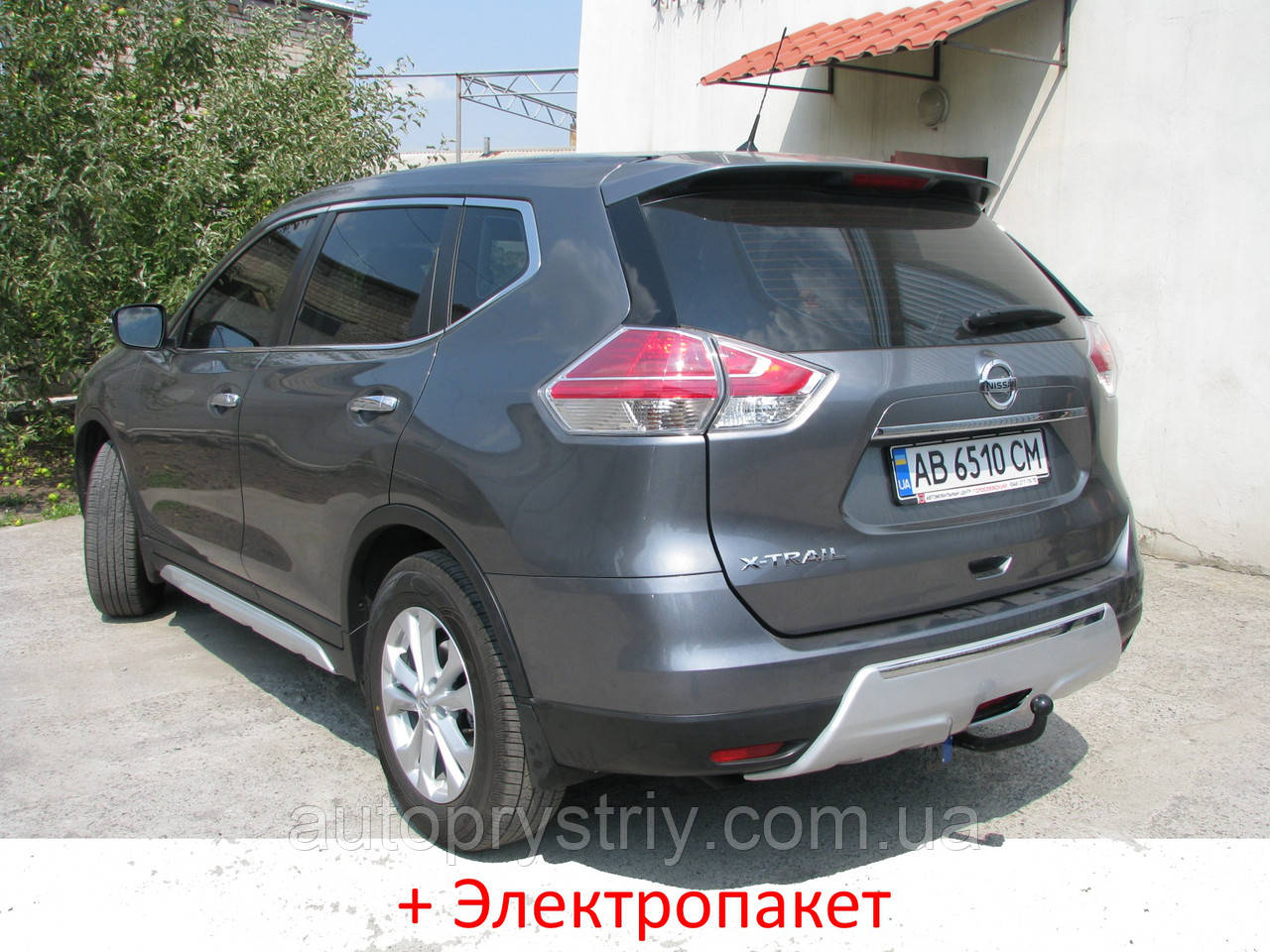 Фаркоп - Nissan X-Trail (T32) Позашляховик (2014--)