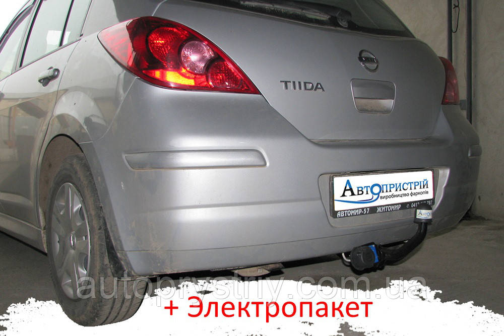 Фаркоп - Nissan Tiida (C11) Хетчбек (2004-2014)
