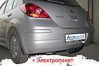 Фаркоп - Nissan Tiida (C11) Хетчбек (2004-2014), фото 1