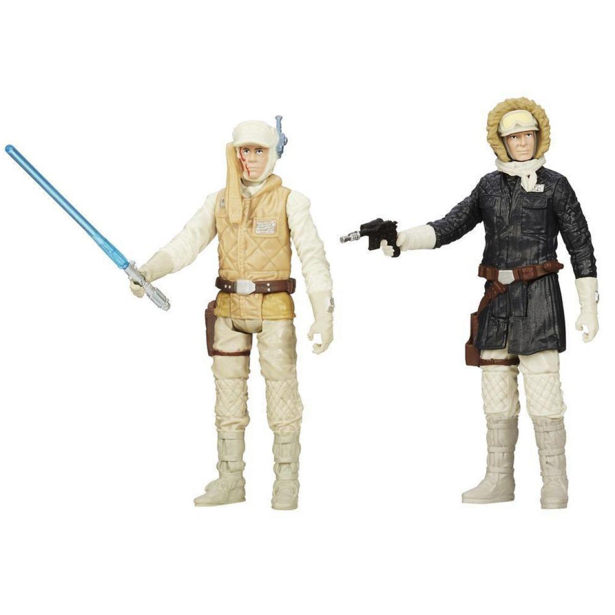 Звездные войны Фигурки для особых миссий Люк Скайуокер и Хан Соло. Оригинал Hasbro B0129/A5228