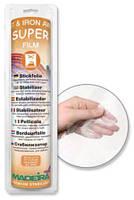 Стабилизатор Super Film термоплавящийся, отрезной, для вышивок эмблем, логотипов, кружева, 30см*5м