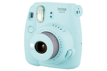 Фотоаппарат с мгновенным фото Fujifilm Instax Mini 9 Голубой лед