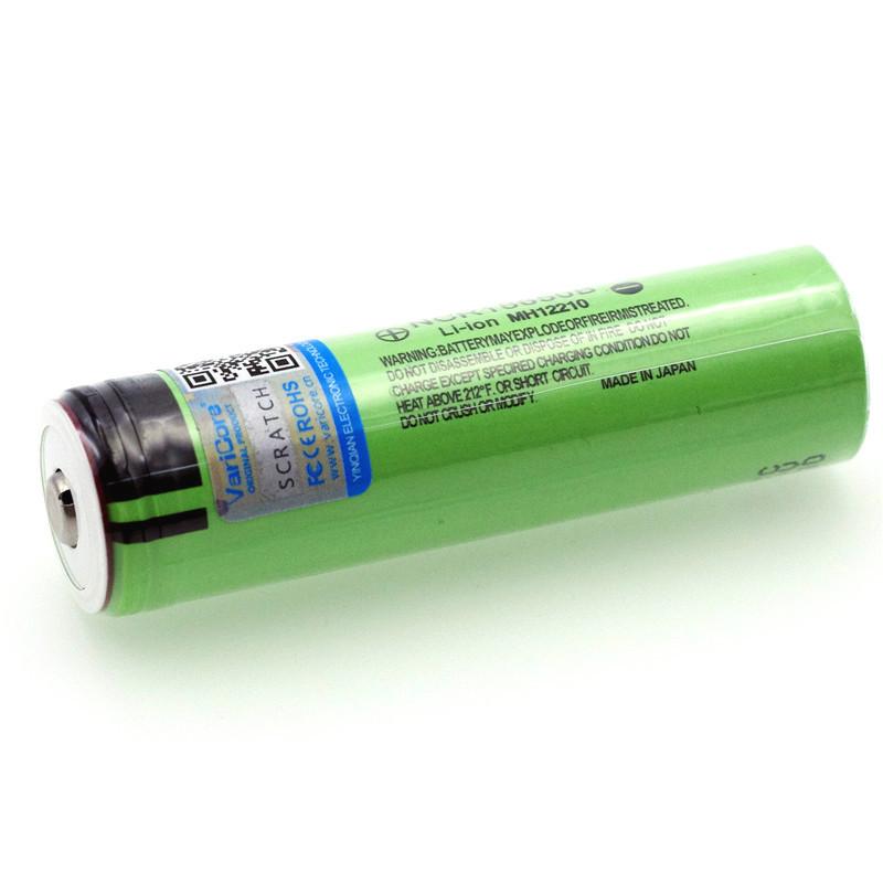 Аккумулятор 18650 Panasonic 3400 мАч с защитой
