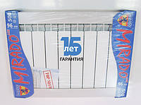 """Радиатор отопления алюминиевый  """"MIRADO"""" 96/500"""