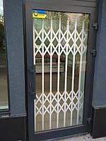 Раздвижная решётка на двери