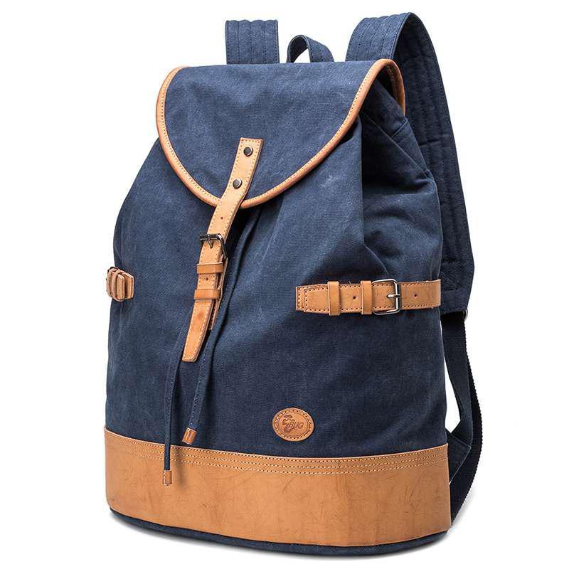 Синій великий рюкзак міський BUG P16S22-7BL