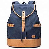 Синій великий рюкзак міський BUG P16S22-7BL, фото 5