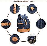Синій великий рюкзак міський BUG P16S22-7BL, фото 6