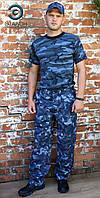 "Брюки охранника ""Титан"" камуфляж город, униформа для охраны"