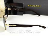Мужские и женские солнцезащитные очки BvLgari Aviator Авиатор качество Булгари золото реплика, фото 3