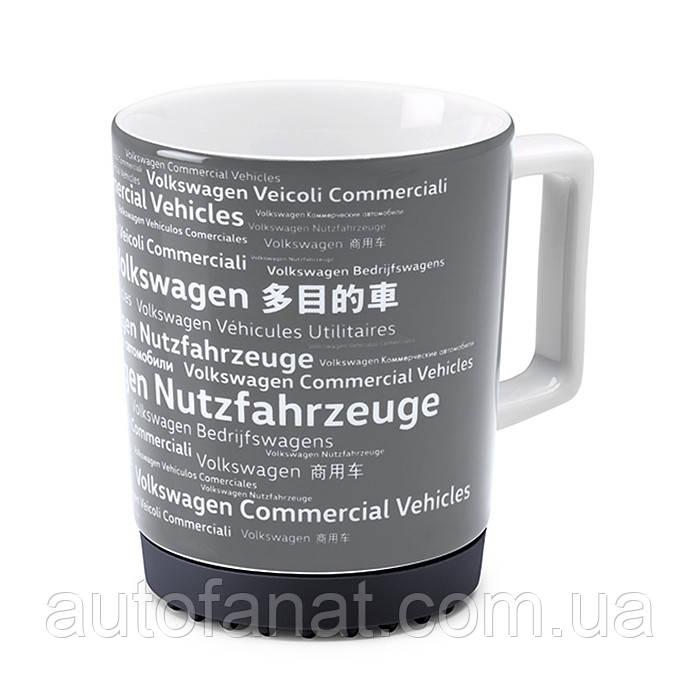 Оригинальная фарфоровая кружка Volkswagen Commercial Vehicles Mug, Black (7E0069601A)