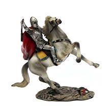 Фигурка сувенирная Рыцарь с мечом на лошади