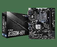 Материнская плата ASRock B360M-HDV (s1151/B360/PCI-E/SATA III)