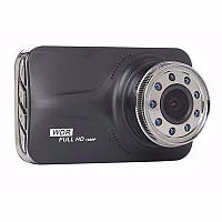 Видеорегистратор Noisy DVR T639 WDR Full HD с выносной камерой заднего вида Черный