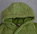 Демисезонный термокомбинезон BEAR Brothers зеленый для новорожденных (QuadriFoglio, Польша), фото 2