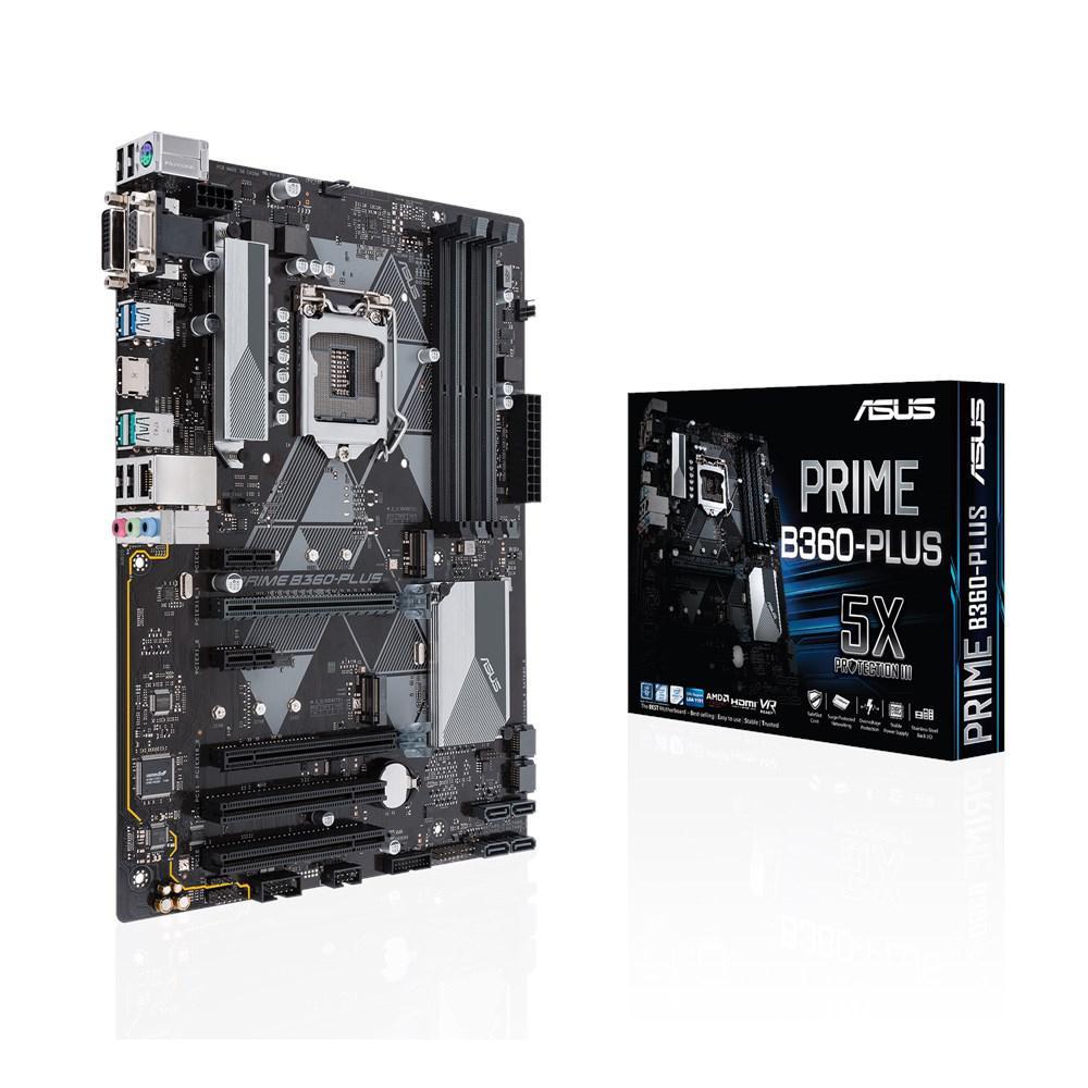 Материнская плата ASUS Prime B360-PLUS (s1151/B360/PCI-E/SATA III)