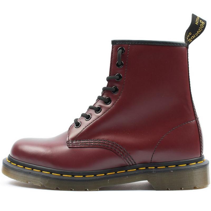Ботинки женские Dr. Martens Boots (коричневые) Top replic - BE SMILE  молодежный интернет 5dc303645b904
