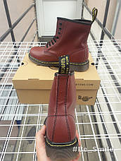 Ботинки женские Dr. Martens Boots (коричневые) Top replic  продажа ... 09b47c874fd48