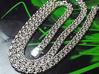 Серебряная цепочка бисмарк 50г