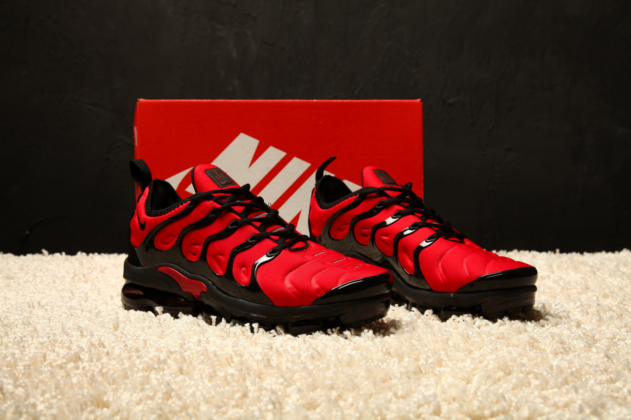 arrives 4b4ee 17724 Мужские кроссовки Nike Air Max Vapormax Plus 2018 Red/Black