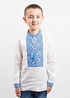"Белая вышиванка на мальчика ""Традиція"", фото 1"