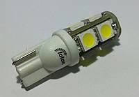 Светодиодная автолампа T10, 9pcs 5050 (Foton)