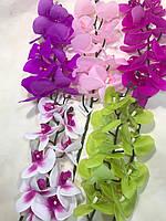 Искусственная орхидея.Ветка декоративной орхидеи.Орхидея латексная.
