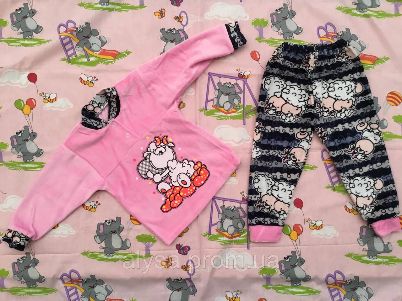 Детская пижама (велюр)